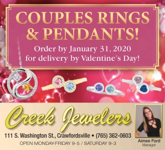 Couples Rings & Pendants!