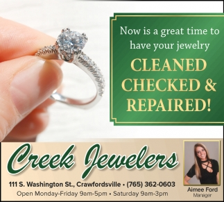 Now is a Great Time to Have Your Jewelry Cleaned Checked & Repaired!