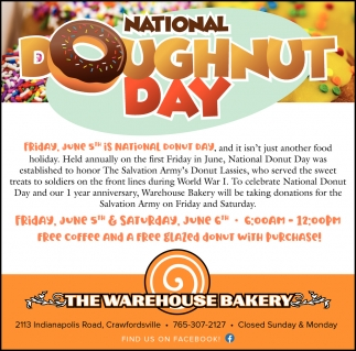 National Dougnut Day