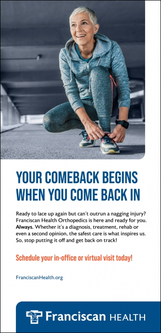 Your Comeback Begins When You Come Back In