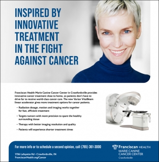 Inspired by Innovative Treatment in the Fight Against Cancer