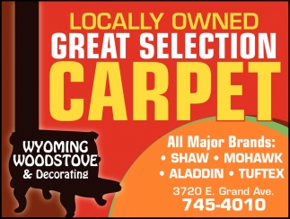 Locally Owned Great Selection Carpet