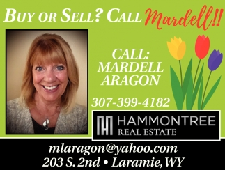 Buy or Sell? Call Mardell!