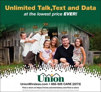 Unlimited talk, Text and Date