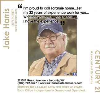 Serving the Laramie Area for Over 40 Years