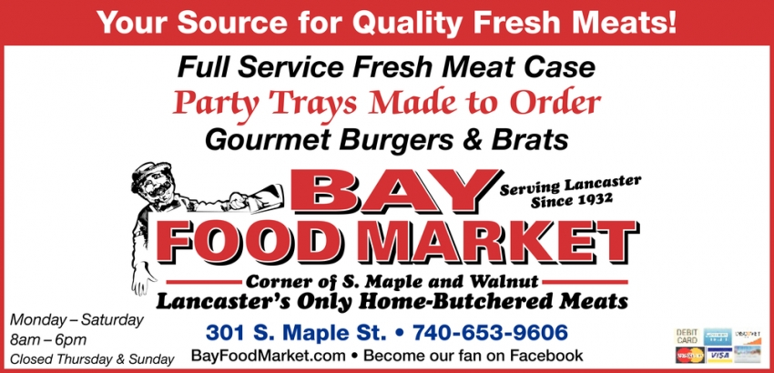 Your Source for Quality Fresh Meats
