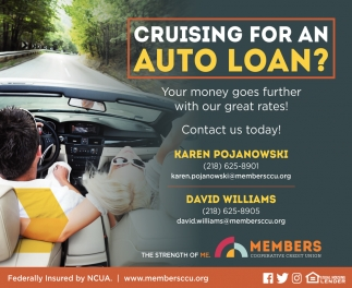 Cruising for An Auto Loan?