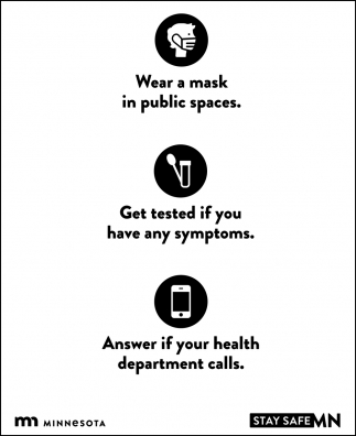 Wear a Mask in Public Spaces
