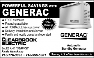 Powerful Savings with Generac