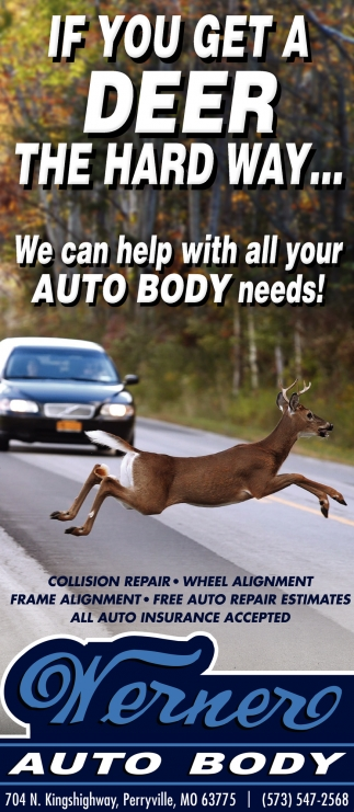 We Can Help With All Your Auto Body Needs