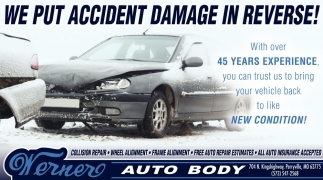 We Put Accident Damage in Reverse