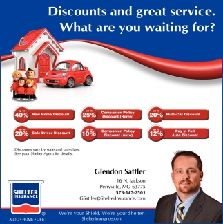 Discounts and Great Service