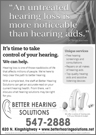 Take Control of Your Hearing