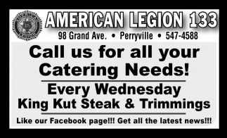 Call Us for All Your Catering Needs!