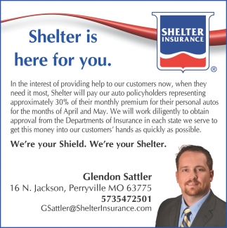 Shelter is Here for You