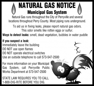 Natural Gas Notice