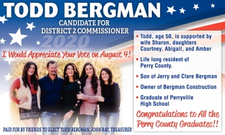 Candidate for District 2 Commissioner