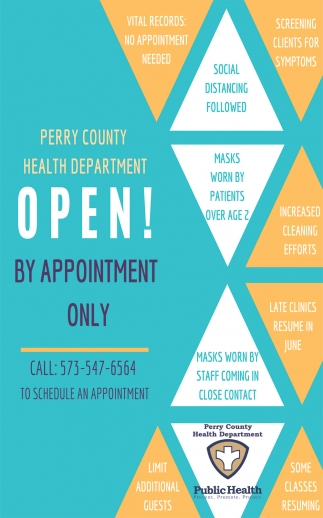 Open! By Appointment Only
