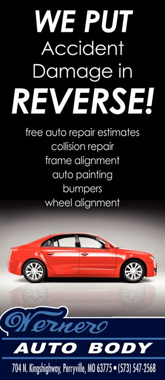 Free Auto Repair Estimates