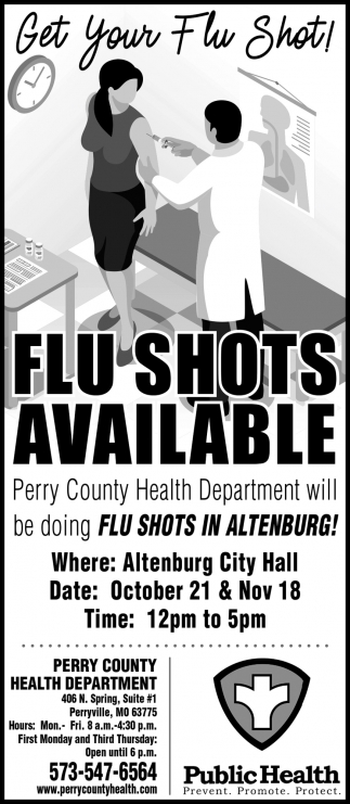 Flu Shots Available