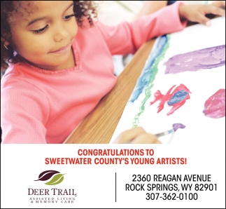 Congratulations to Sweetwater County's Young Artists!
