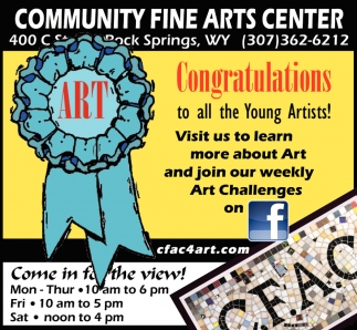 Congratulations to All the Young Artists!
