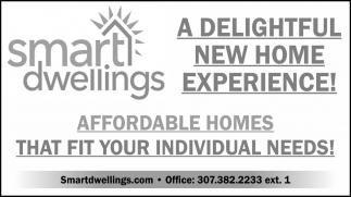 Affordable Homes that Fit Your Individual Needs!