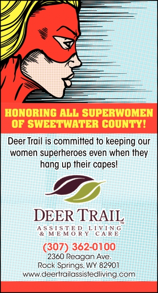 Honoring All Superwomen of Sweetwater County!