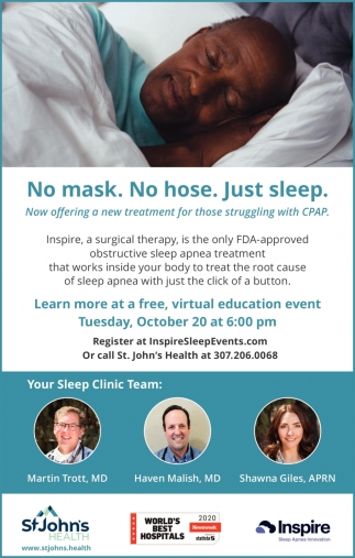 Now Offering a New Treatment for Those Struggling with CPAP