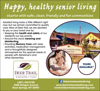Happy, Health Senior Living