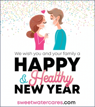 We Wish You and Your Family a Happy & Healthy New Year
