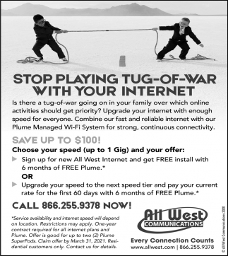 Stop Playing Tug-of-War with Your Internet
