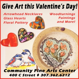 Give Art this Valentine's Day!