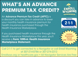 What's An Advance Premium Tax Credit?