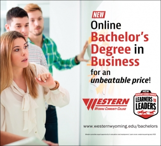 New Online Bachelor's Degree in Business for An Unbeatable Price!