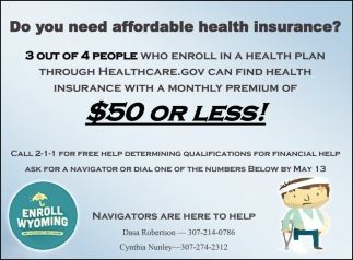 Do You Need Affordable Health Insurance?
