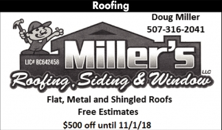 Roofing Siding Miller S Roofing Siding And Window Rochester Mn