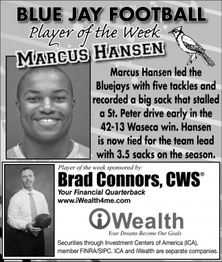 Player of the Week - Marcus Hansen