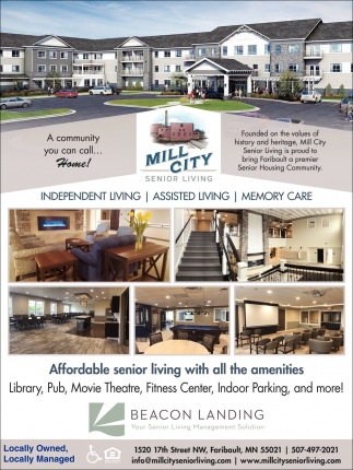 Affordable Senior Living with all the amenities