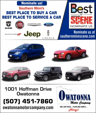 Nominate us! Best place to buy a car / Best place to service a car