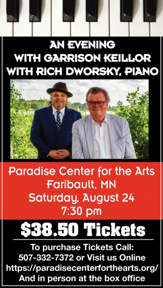 An Evening with Garrison Keillor with Rich Dworsky, Piano