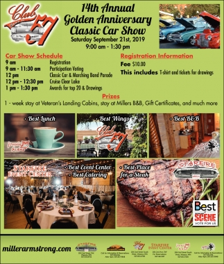 14th Annual Golden Anniversary Classic Car Show
