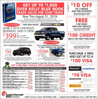 Get a Reliable Vehicle with Summer Savings!