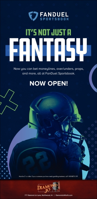It's no just a Fantasy - Fanduel Sporstbook