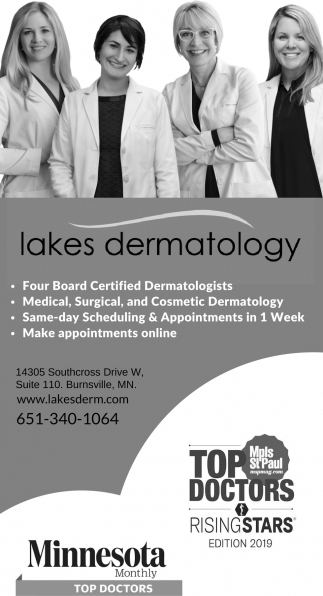 Four Board Certified Dermatologists