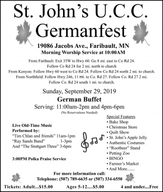 Germanfest - September 29