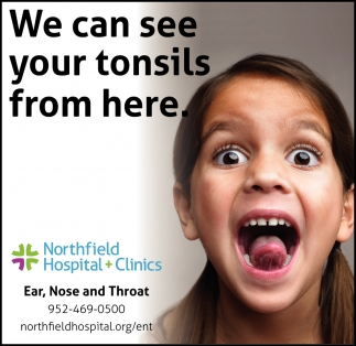 We can see your tonsils from here