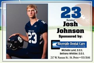 23 Senior - Josh Johnson