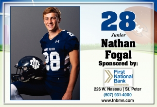 28 Junior - Nathan Fogal