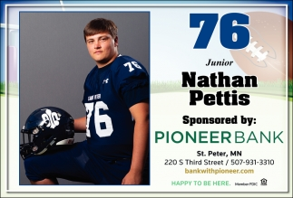 76 Junior - Nathan Pettis